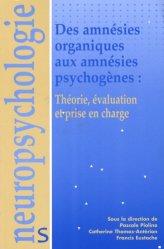 Dernières parutions dans Neuropsychologie, Des amnésie organiques aux amnésie psychogènes