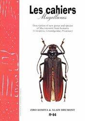 Souvent acheté avec Un nouveau Macrodontia originaire du Pérou, le Description of new genus and species of Macrotomini from Sumatra
