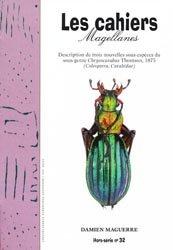 Souvent acheté avec Trois nouvelles espèces de Taeniderini des Célèbes et de Bornéo, le Description de trois sous-espèces du sous-genre Chrysocarabus Thomson, 1875