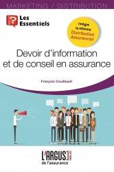 Dernières parutions sur Assurances, Devoir d'information et de conseil en assurance https://fr.calameo.com/read/000015856623a0ee0b361