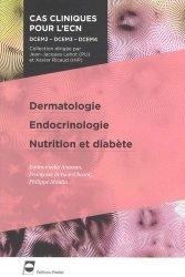 Souvent acheté avec Lecture critique d'articles, le Dermatologie - Endocrinologie - Nutrition et diabète