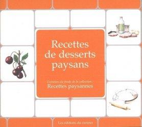 Dernières parutions dans Recettes paysannes, Desserts paysans