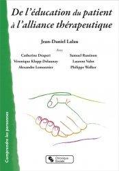 Dernières parutions dans Comprendre les personnes, De l'éducation du patient à l'alliance thérapeutique