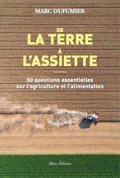 Dernières parutions sur Industrie agroalimentaire, De la terre à l'assiette