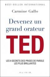 Dernières parutions sur Expression orale, Devenez un grand orateur TED. Les 9 secrets des prises de parole les plus brillantes