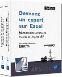 Dernières parutions dans Coffret Bureautique, Devenez un expert sur Excel : fonctionnalités avancées, macros et langage VBA