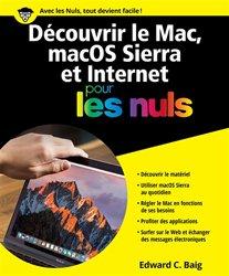 Dernières parutions sur Mac, Découvrir le Mac, MacOS Sierra & Internet pour les nuls