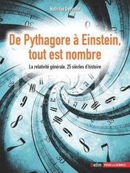 Dernières parutions dans belin sciences, De Pythagore à Einstein, tout est nombre