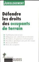 Dernières parutions dans Guides, Défendre les droits des occupants de terrain