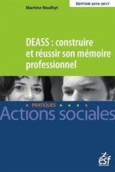Nouvelle édition DEASS Construire et réussir son mémoire professionnel