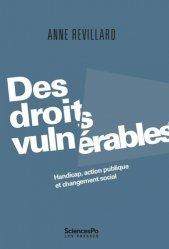 Dernières parutions sur Droits de l'homme, Des droits vulnérables