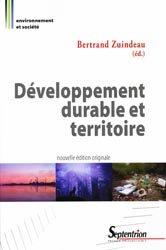 Dernières parutions dans Environnement et société, Développement durable et territoire