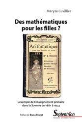 Dernières parutions sur Histoire des maths, Des mathématiques pour les filles ?
