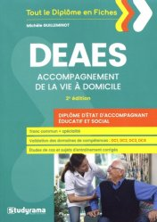 Dernières parutions sur DEAES (ex-DEAMP / DEAVS), DEAES, accompagnement de la vie à domicile