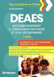 Dernières parutions sur DEAES (ex-DEAMP / DEAVS), DEAES : accompagnement à l'éducation inclusive et à la vie ordinaire : diplôme d'Etat d'accompagnant éducatif et social