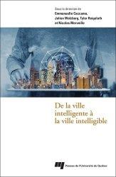Dernières parutions sur Architecture - Urbanisme, De la ville intelligente à la ville intelligible