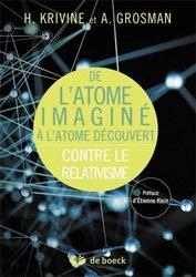 Dernières parutions dans Plaisirs des sciences, De l'atome imaginé à l'atome découvert