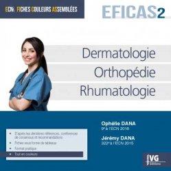 Dernières parutions sur ECN iECN DFASM DCEM, Dermatologie, orthopédie, rhumatologie