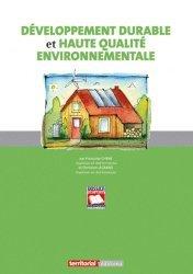 Souvent acheté avec Science des aliments 1 Stabilisation biologique et physico-chimique, le Développement durable et haute qualité environnementale