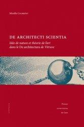 Souvent acheté avec Entretiens sur l'architecture Tome1 et Tome 2, le De architecti scientia