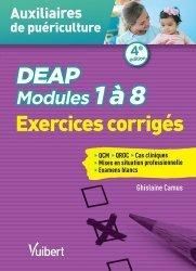Dernières parutions sur Auxiliaire de puériculture - DEAP, DEAP - Modules 1 à 8 - Exercices corrigés