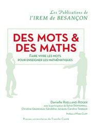 Dernières parutions sur Mathématiques, Des mots & des maths