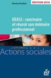 Dernières parutions sur DEASS, DEASS : construire et réussir son mémoire 2018