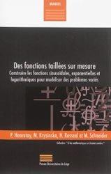 Dernières parutions sur Mathématiques appliquées, Des fonctions taillées sur mesure