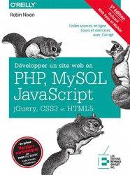 Dernières parutions sur Conception - Réalisation - Référencement, Développer un site web en PHP, MySQL et JavaScript avec jQuery, CSS3 et HTML5
