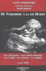 Dernières parutions dans Santé & Philosophie, De Nuremberg à la loi Huriet