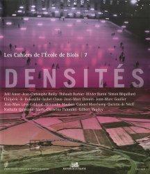 Dernières parutions dans Les Cahiers de l'École de Blois, Densités