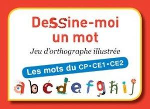Dernières parutions sur Matériel, Dessine-moi un mot - Les mots du CP/CE1/CE2