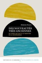 Dernières parutions sur Autres ouvrages de philosophie du droit, Des nouveautés très anciennes.