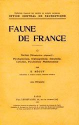 Dernières parutions dans Faune de France, Diptères (Nématocères piqueurs)