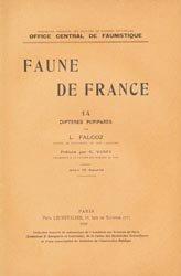 Dernières parutions dans Faune de France, Diptères Pupipares