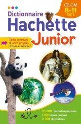 Dernières parutions dans Dictionnaire, Dictionnaire Hachette Junior - CE-CM - 8-11 ans
