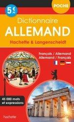 Dernières parutions sur Dictionnaires, Dictionnaire Poche Hachette Langenscheidt - Bilingue Allemand