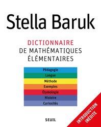 Dernières parutions sur Dictionnaires et cours fondamentaux, Dictionnaire de mathématiques élémentaires