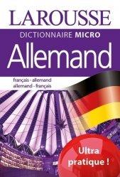 Dernières parutions sur Dictionnaires, Dictionnaire micro Allemand