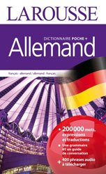 Dernières parutions sur Dictionnaires, Dictionnaire Larousse poche plus français-allemand / allemand-français