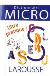 Dernières parutions sur Outils d'apprentissage, Dictionnaire Larousse Micro, le plus petit dictionnaire