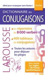 Dernières parutions sur Outils d'apprentissage, Dictionnaire Larousse des Conjugaisons poche