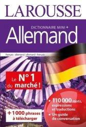 Dernières parutions sur Guides de conversation, Dictionnaire mini plus allemand