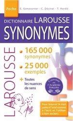 Dernières parutions sur Dictionnaires, Dictionnaire LAROUSSE des SYNONYMES poche