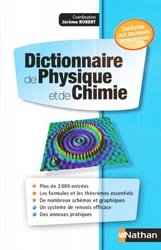Dernières parutions sur Dictionnaires et cours fondamentaux, Dictionnaire de physique et de chimie