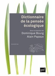 Dernières parutions dans Quadrige Dicos Poche, Dictionnaire de la pensée écologique