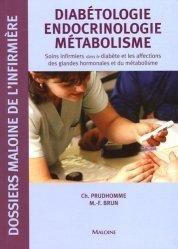 Souvent acheté avec Dico infirmier, le Diabétologie endocrinologie métabolisme