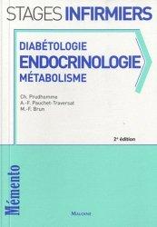 Dernières parutions sur Endocrinologie - Nutrition - Diabète, Diabétologie endocrinologie  Métabolisme