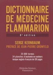 Souvent acheté avec Entraînement mathématiques concours AS/AP, le Dictionnaire de médecine Flammarion
