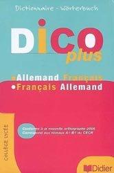 Dernières parutions sur Dictionnaires, DICOPLUS DICTIONNAIRE BILINGUE